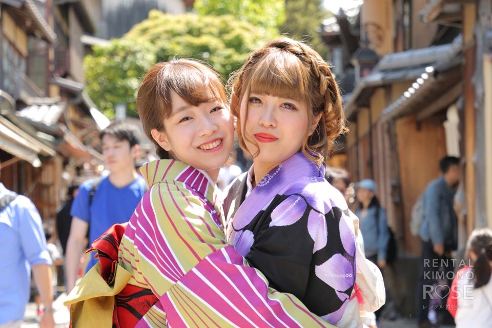 写真:着物姿で京都女子旅!東山ロケ撮影☆