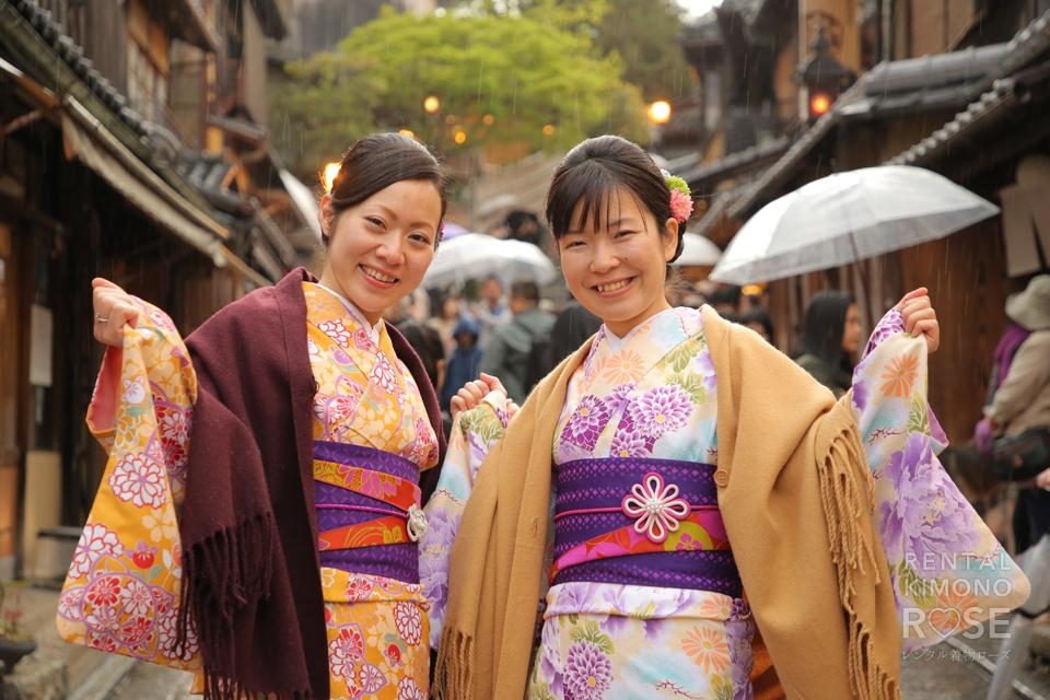 写真:仲良し女子旅で京都東山ロケ撮影☆