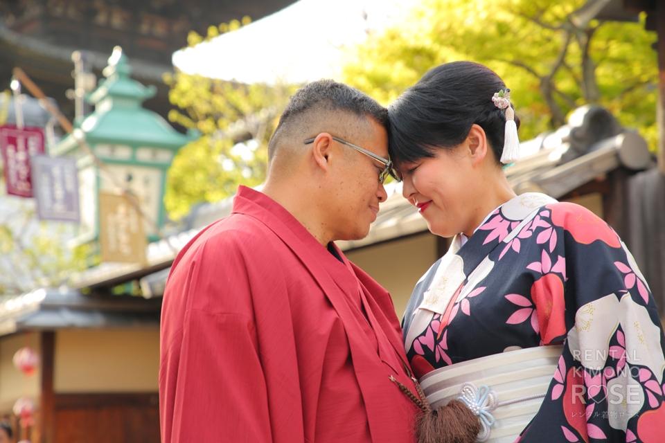 写真:新婚さんと東山ロケーション撮影♥︎