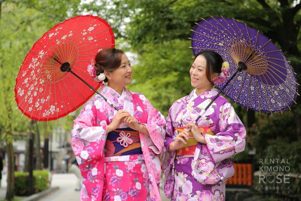 写真:海外からのお客様と祇園ぶらりロケ撮☆