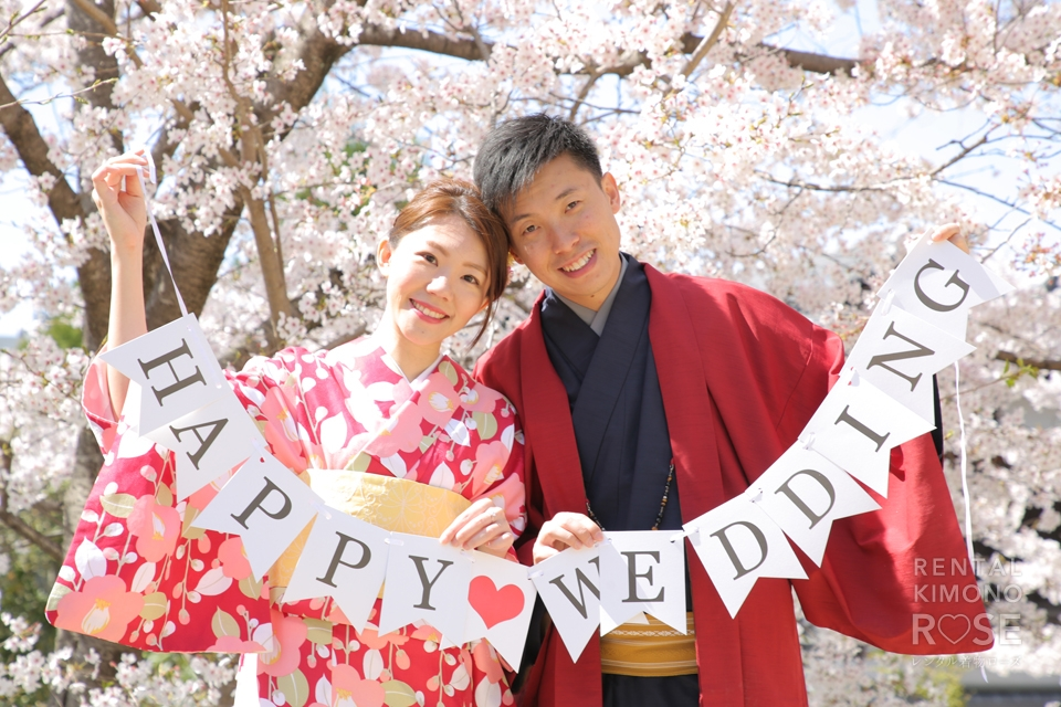 写真:香港よりイースターでお越しの婚約中カップル様!