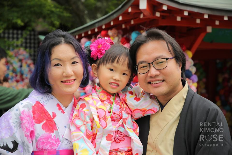 写真:香港より元気で可愛いお嬢さまとご家族ロケ撮影