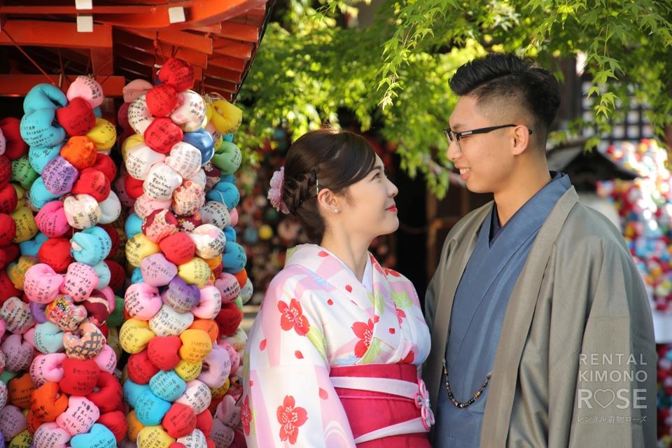 写真:香港からカップルさんで京都旅行!着物東山ロケ撮影★