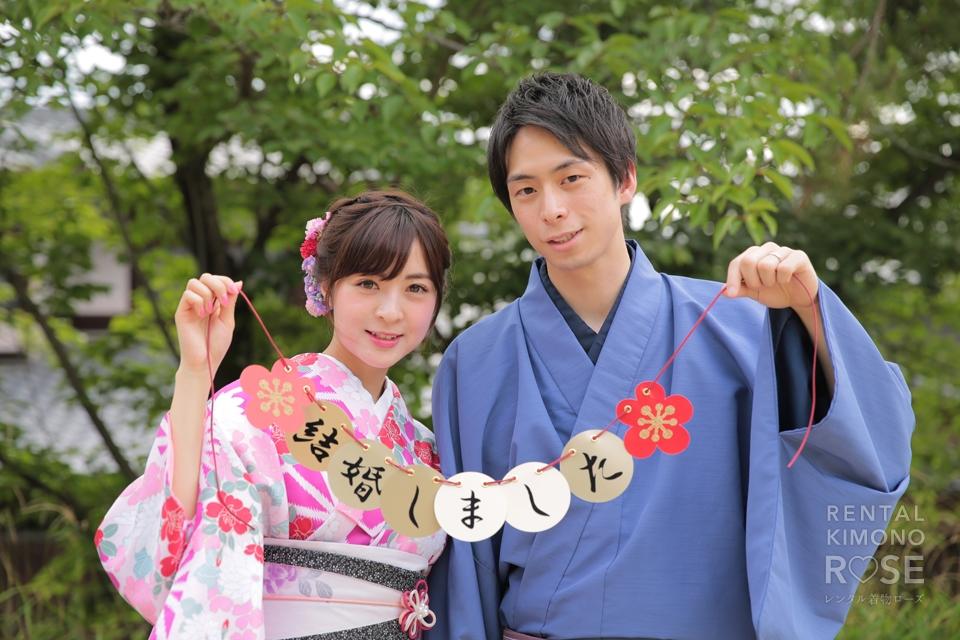 写真:新婚様と京都東山で大人ロケ撮影♥︎