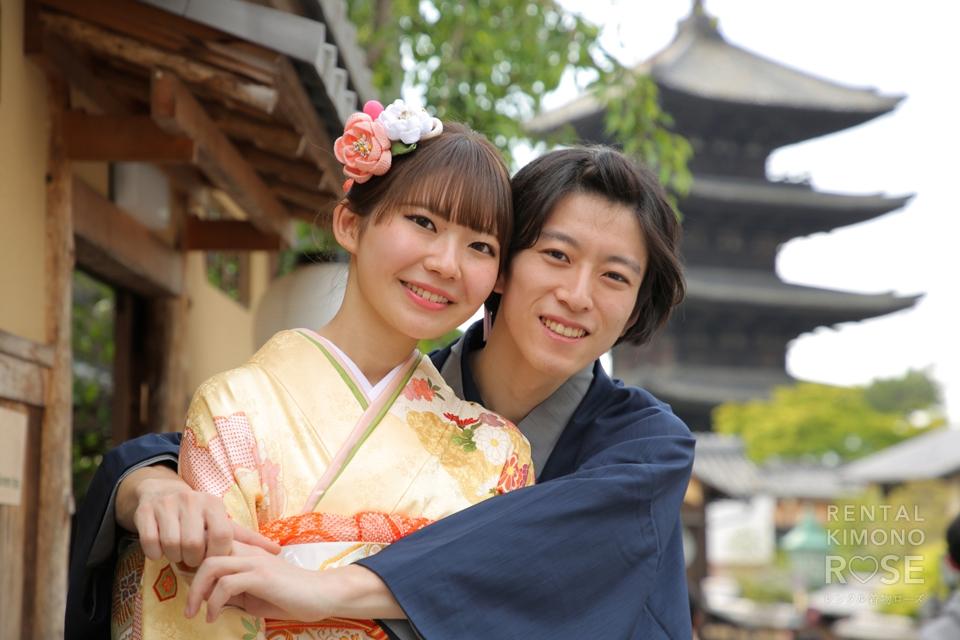 写真:ラブラブ学生カップル様と東山ロケ♡