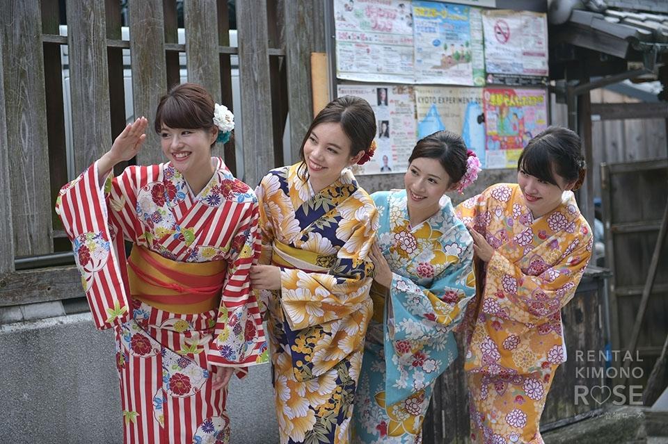 写真:仲良し4名様と京都探索…♡