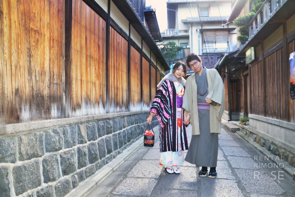 写真:ふたりで京都ぶらり散策♪