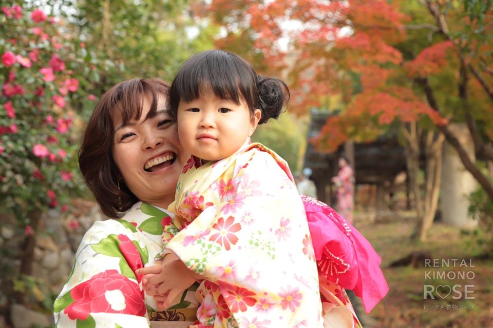 写真:家族で散策&東山ロケーション撮影♥︎
