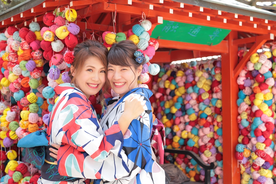 写真:可愛すぎる浴衣女子旅!京都東山にてロケーション撮影☆
