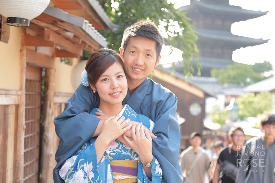 写真:国際恋愛中の素敵なカップル様と東山ロケ撮♥︎