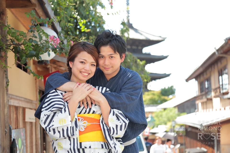 写真:京都・東山でロケーション撮影☆