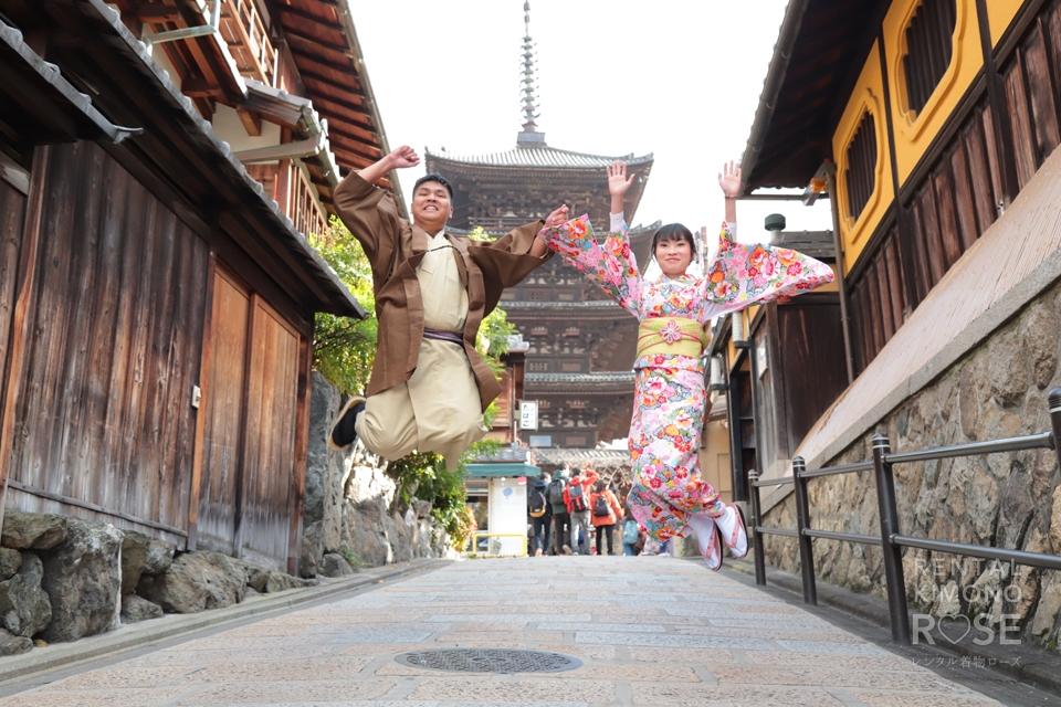 写真:海外から京都東山でロケーション撮影☆