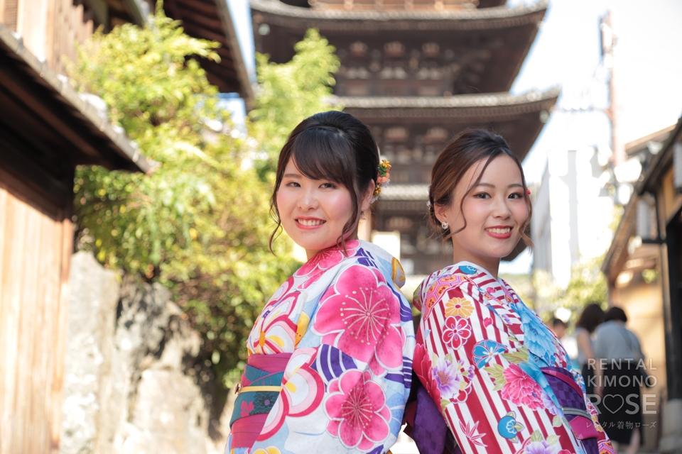 写真:仲良し女子旅×東山ロケーション撮影☆