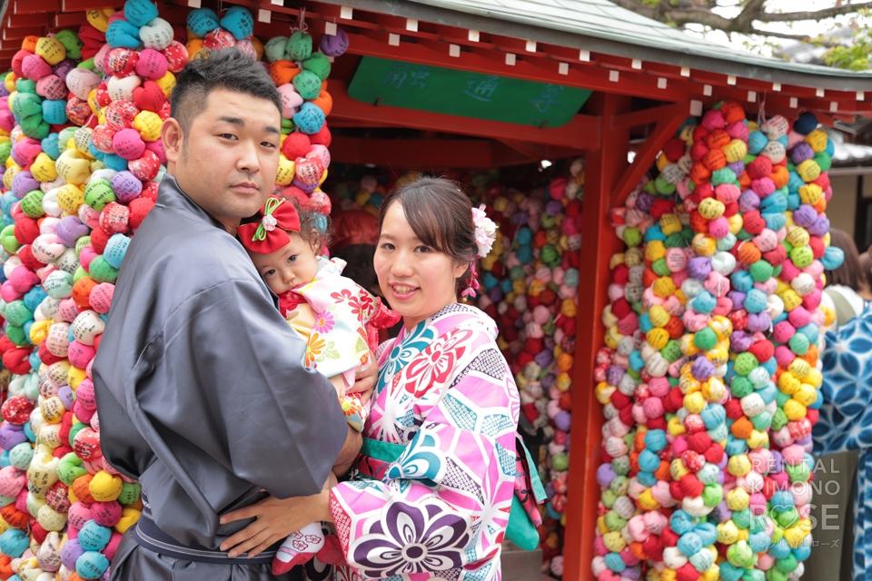 写真:九州からご家族で東山ロケ撮☆