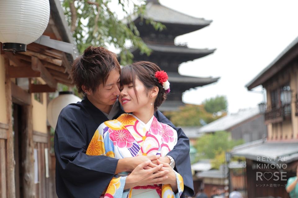 写真:仲睦まじいご夫婦と東山ロケーション撮影♥︎