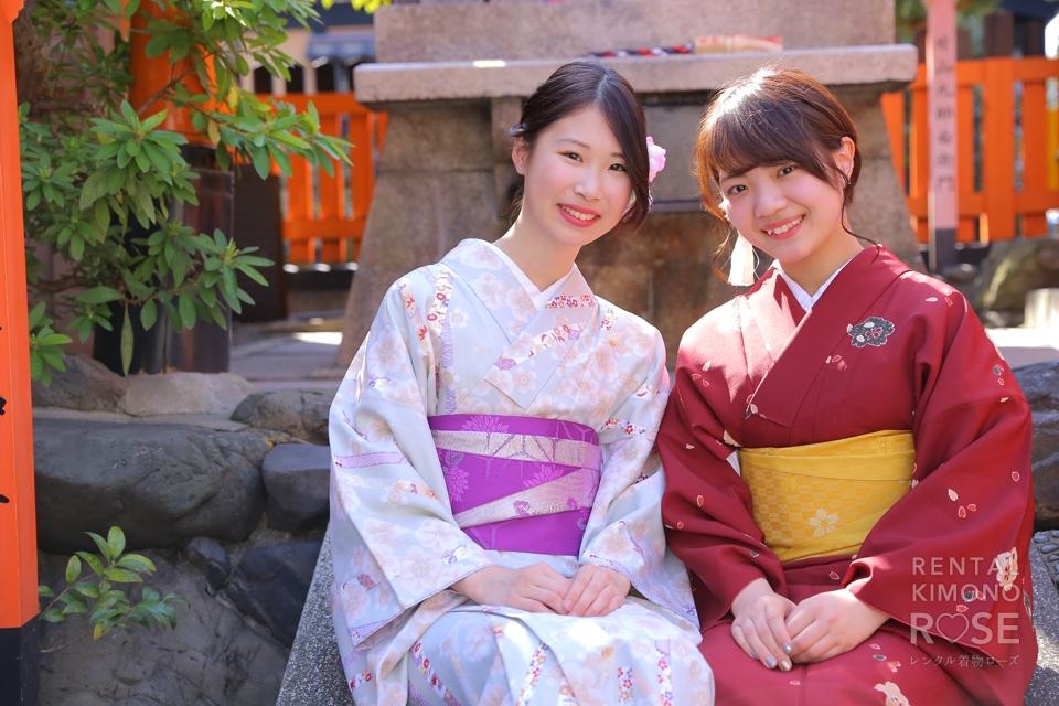 写真:女子たびっ!祇園編(*´﹀`*)どきッ女同士の壁ドン大会!