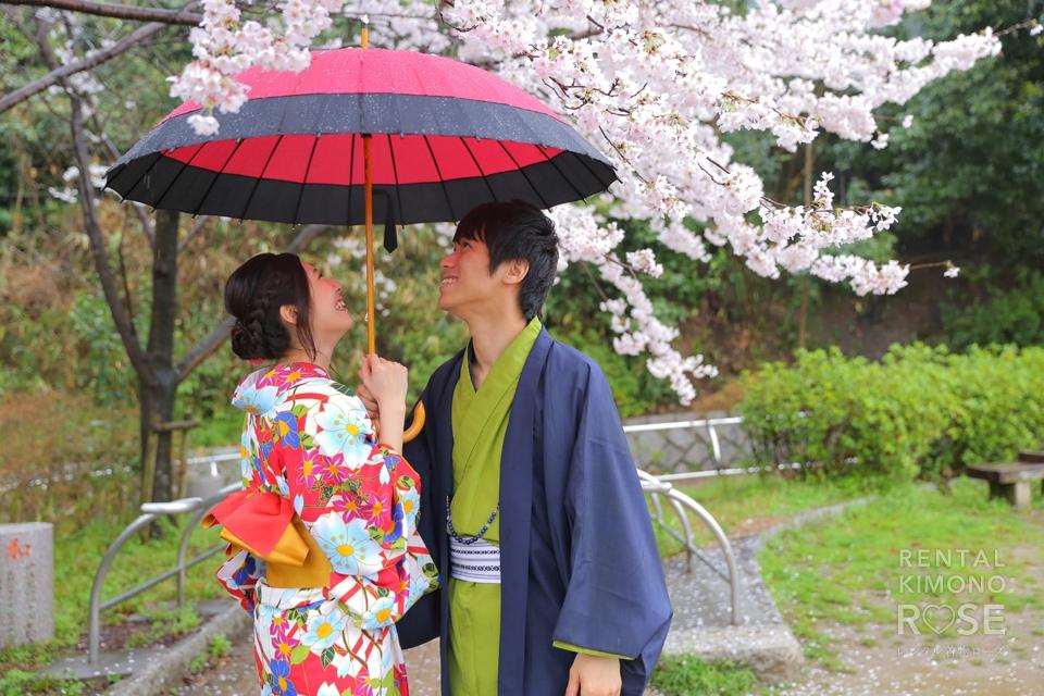 写真:ハイテンション撮影は雨天決行!(;・ω・)ゴクリ…