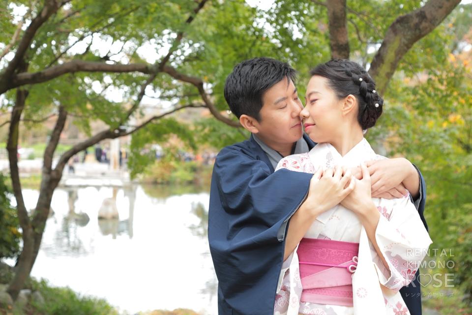 写真:国際恋愛中のカップル様とロケ撮で東山散策☆