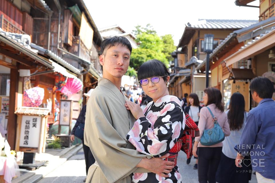 写真:京都・東山で素敵なオシドリカップルとロケ撮☆