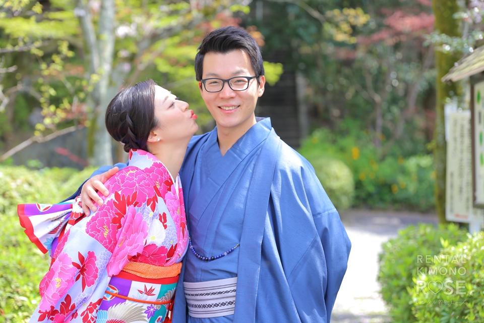 写真:新婚ご夫婦を着物撮影プロデュース!妹さん大奮闘記